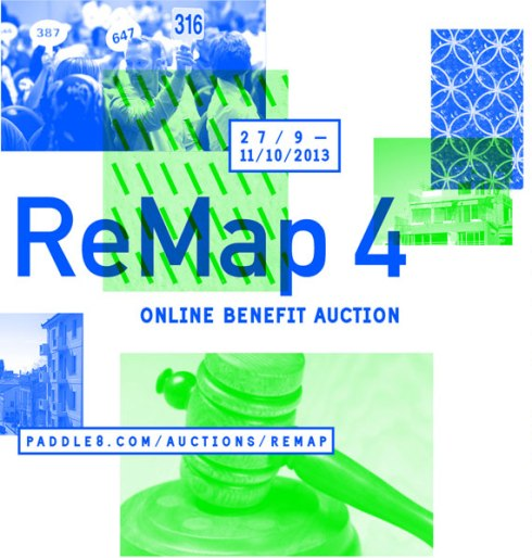 ReMap 4 Online Benefit Auction is on until October 11, 2013