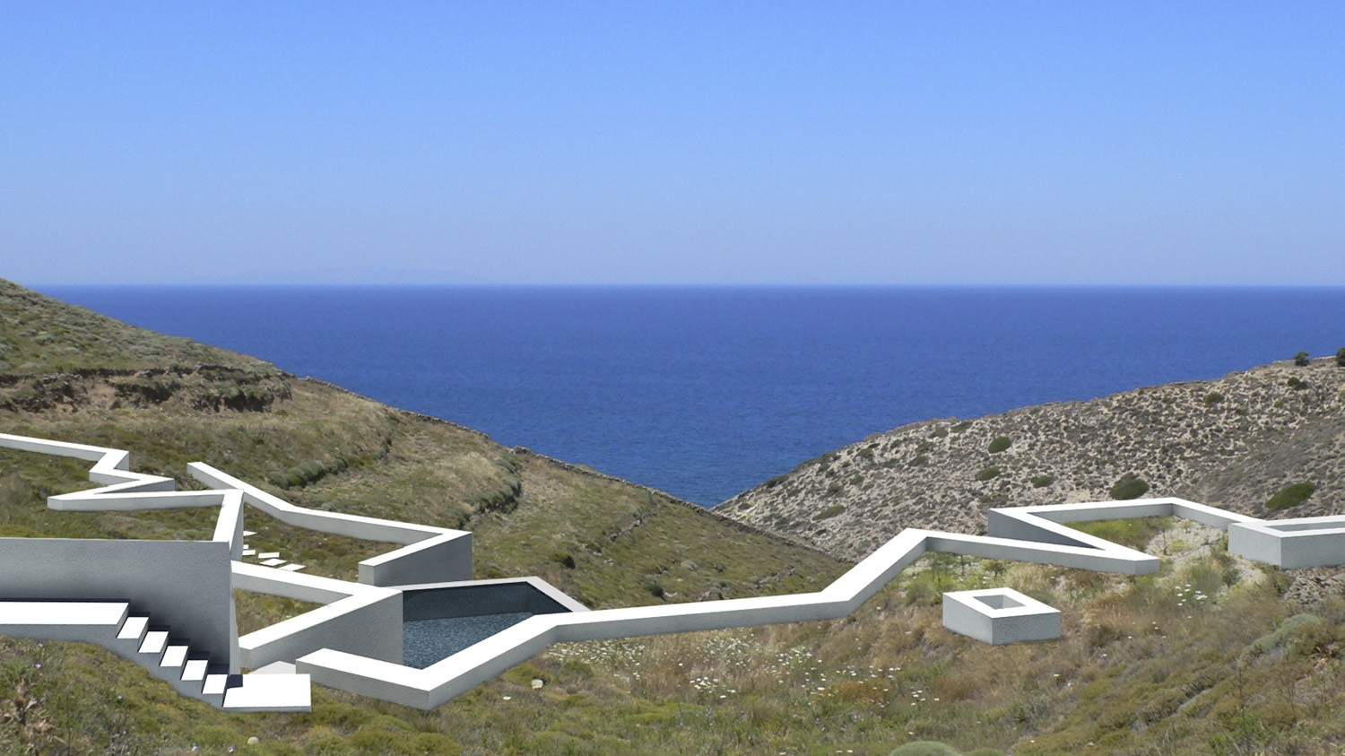 Ktima House, Antiparos, New Addition, 2010 Season