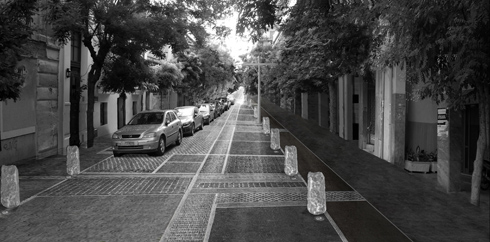Proposal for Kerameikos Salaminos streets