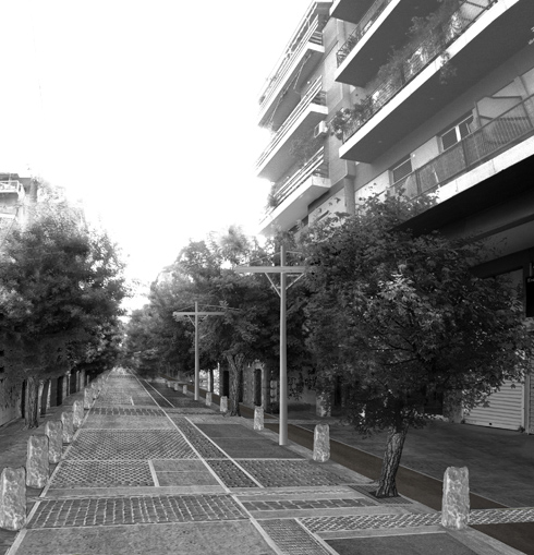 KM Protypi Geitonia: Proposal for Keramikou - Salaminos streets