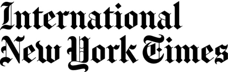 Kerameikos Metaxourgeio and OLIAROS in International New York Times front page